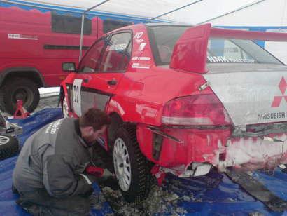 Rally Finnskog 2008