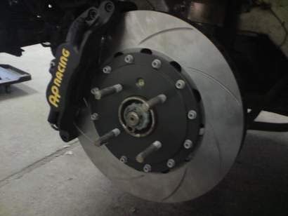 Nye bremser på plass