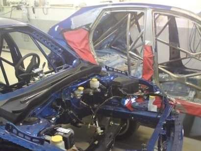 Snart ferdige rallybiler