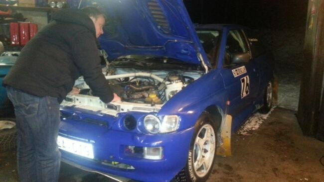 I utlandet for å finne rallybil