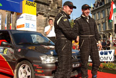 I mål i Rally Tyskland!
