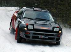 Turboslange til besvær på Mountain Rally