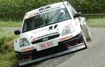 Fiesta S1600-test i England